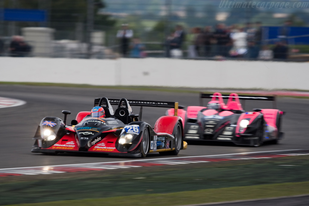 LMP2 challengers - Chassis: SR9002   - 2009 Le Mans Series Silverstone 1000 km