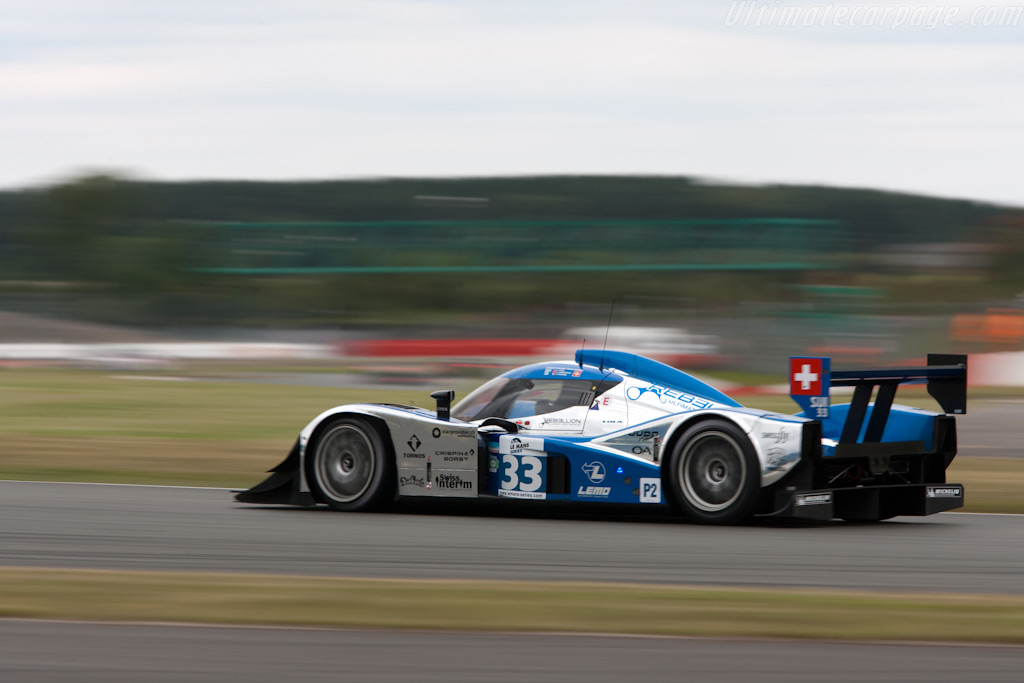 LMP2 leader from early on - Chassis: B0980-HU01S   - 2009 Le Mans Series Silverstone 1000 km