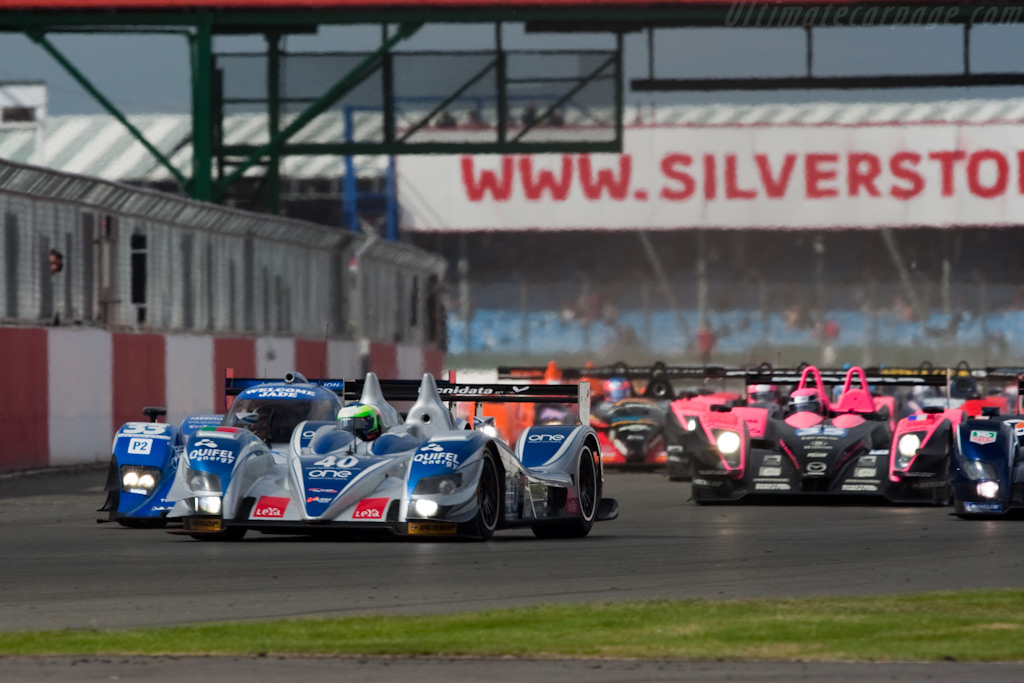 LMP2 leaders - Chassis: 09S-05   - 2009 Le Mans Series Silverstone 1000 km