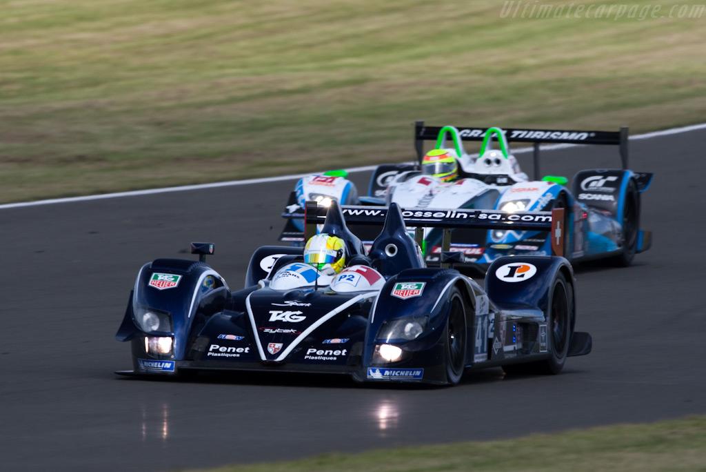 LMP2 vs LMP1 - Chassis: 07S-03   - 2009 Le Mans Series Silverstone 1000 km