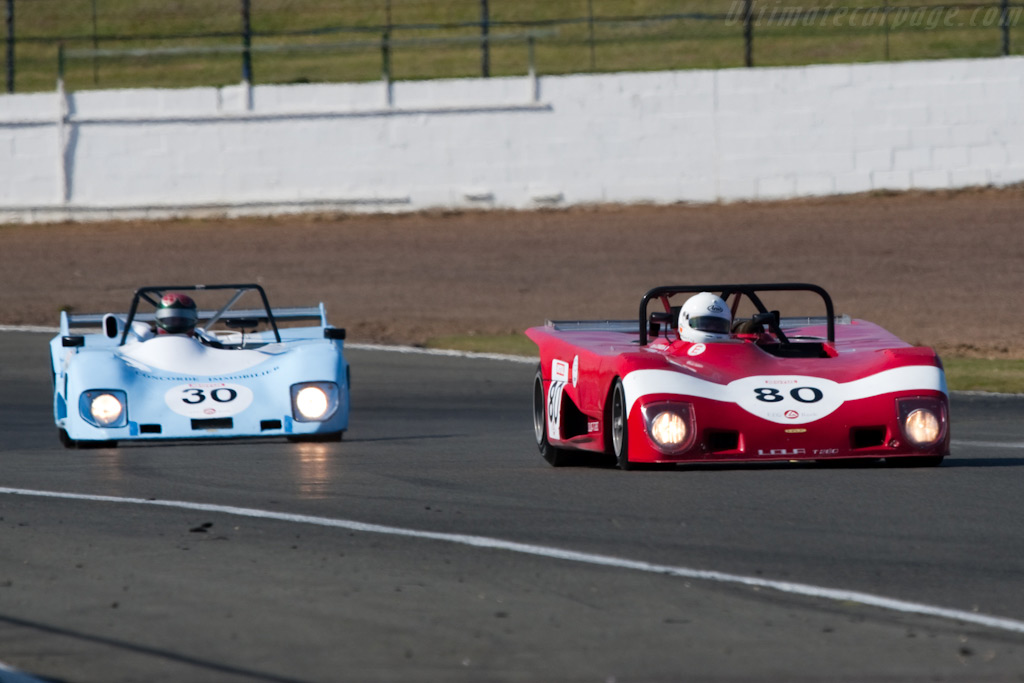 Lola T298 and T280 - Chassis: HU93   - 2009 Le Mans Series Silverstone 1000 km