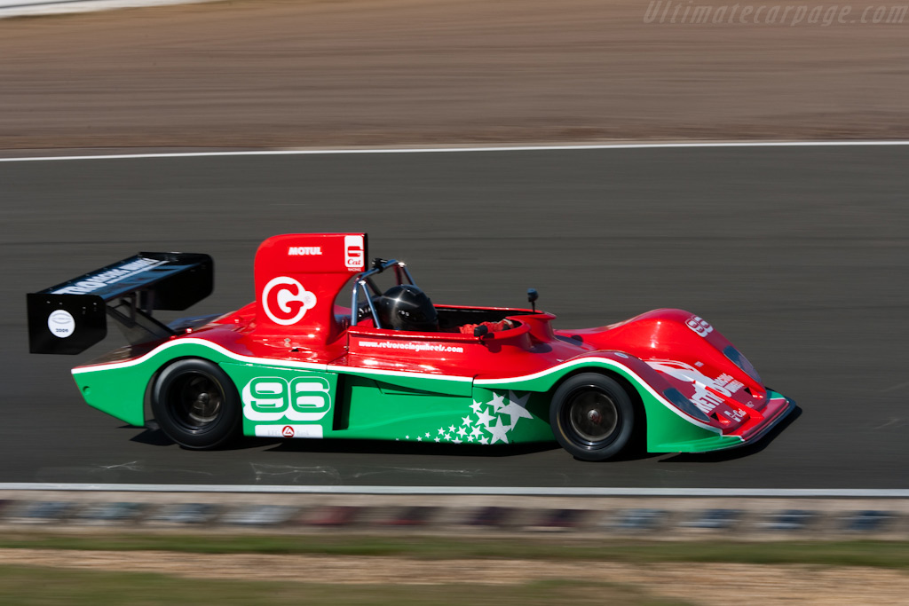 March 75S - Chassis: 75S/5   - 2009 Le Mans Series Silverstone 1000 km