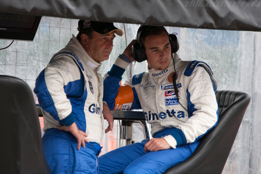 Nigel and Greg Mansell    - 2009 Le Mans Series Silverstone 1000 km