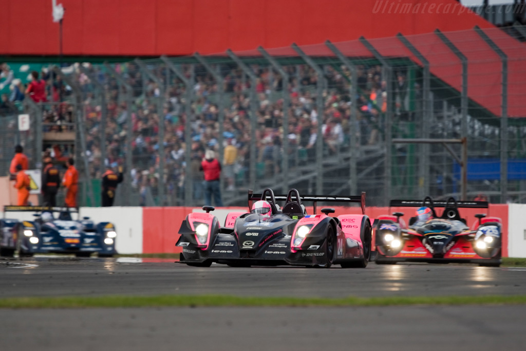 On the way to a podium - Chassis: 01-05   - 2009 Le Mans Series Silverstone 1000 km