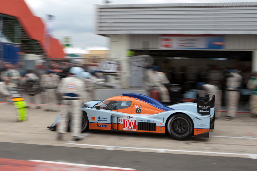 Pits from the lead - Chassis: B0960-HU02S   - 2009 Le Mans Series Silverstone 1000 km