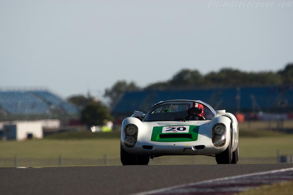 Porsche 910 - Chassis: 910-019   - 2009 Le Mans Series Silverstone 1000 km