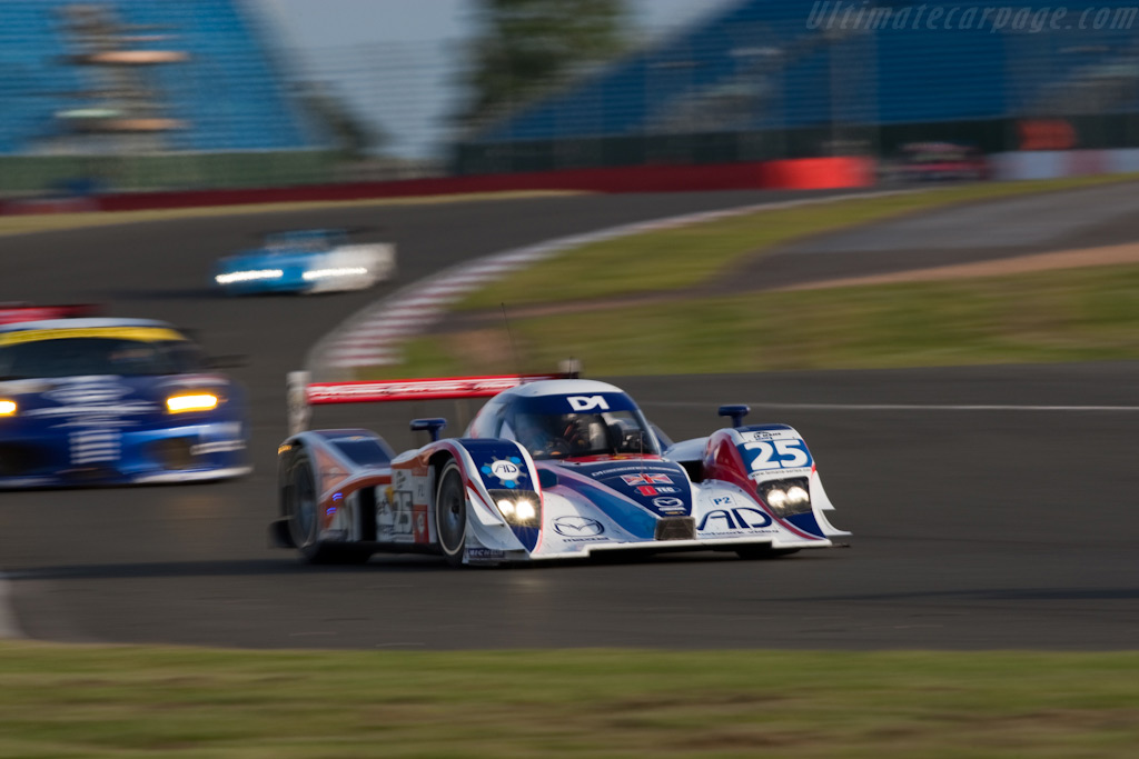 Re-engined Lola-Mazda - Chassis: B0880-HU03   - 2009 Le Mans Series Silverstone 1000 km