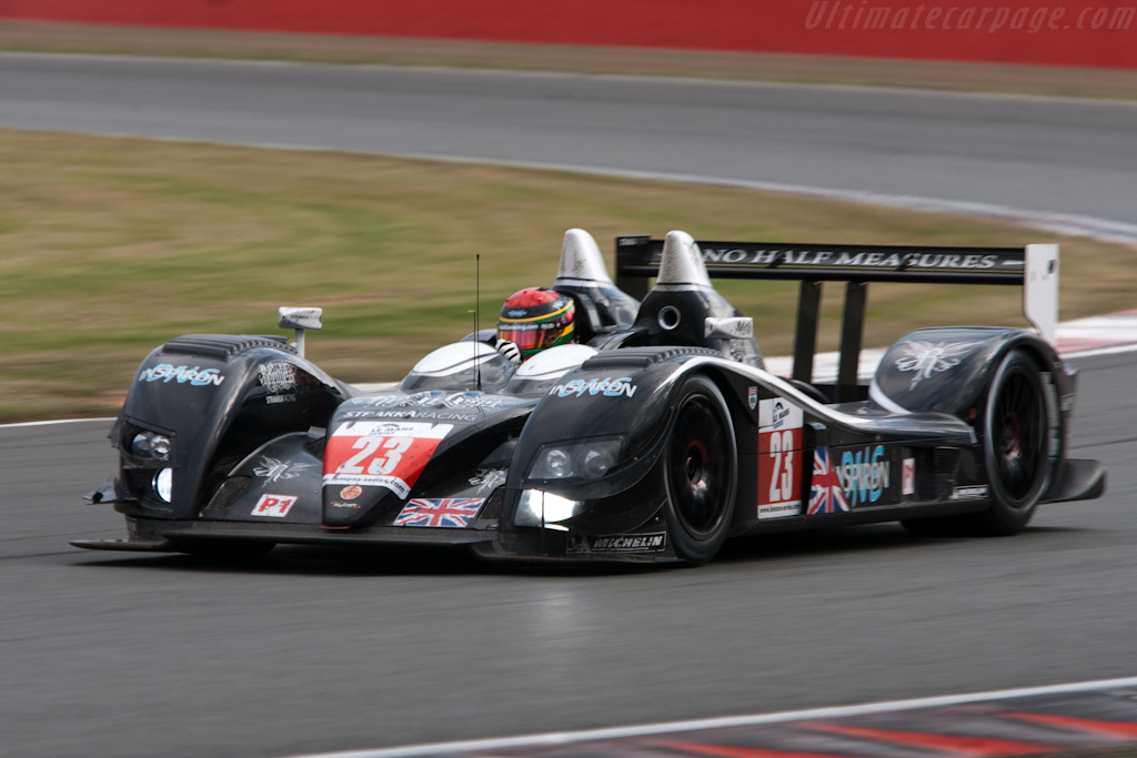 Strakka Racing claimed final LMP1 point - Chassis: 09S-04   - 2009 Le Mans Series Silverstone 1000 km