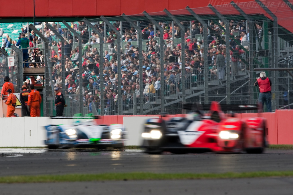 Strong crowd    - 2009 Le Mans Series Silverstone 1000 km