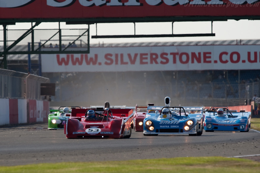 The CER Start    - 2009 Le Mans Series Silverstone 1000 km