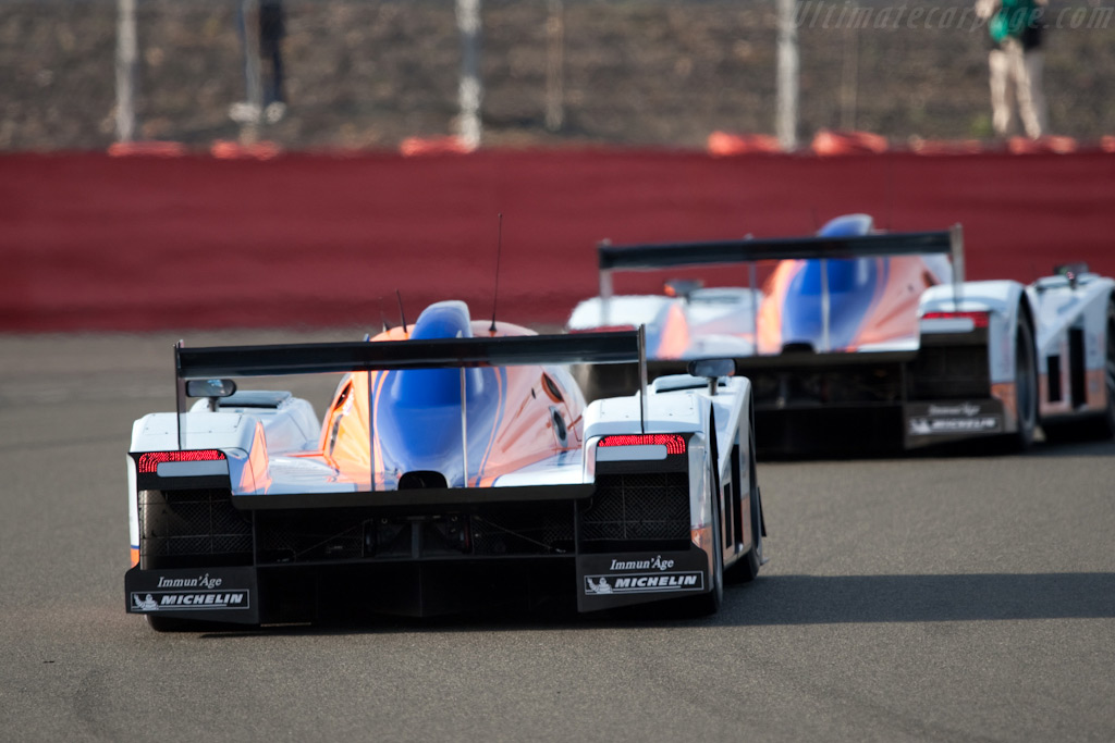 The Lola Astons - Chassis: B0960-HU01S   - 2009 Le Mans Series Silverstone 1000 km