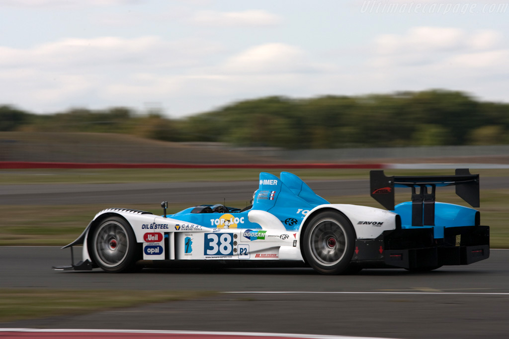 The Pegasus racing Courage - Chassis: LC70-1   - 2009 Le Mans Series Silverstone 1000 km