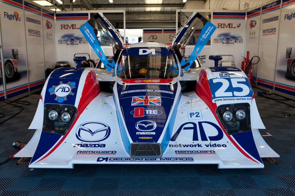 The RML Lola - Chassis: B0880-HU03   - 2009 Le Mans Series Silverstone 1000 km