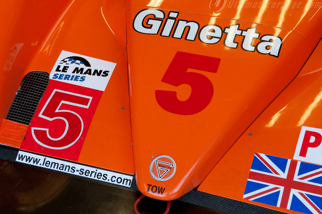 The Red 5 - Chassis: 09S-06   - 2009 Le Mans Series Silverstone 1000 km