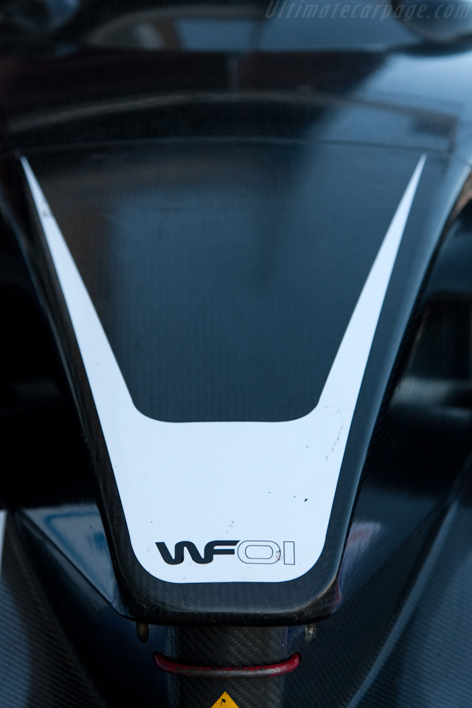 The WF01 was back - Chassis: WF01-02   - 2009 Le Mans Series Silverstone 1000 km