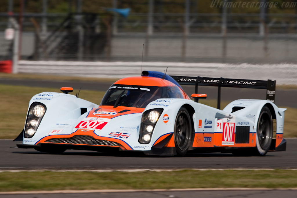 The championship leading Lola Aston - Chassis: B0960-HU02S   - 2009 Le Mans Series Silverstone 1000 km
