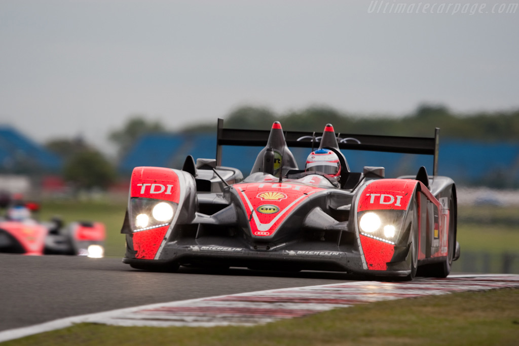 The two Kolles Audis - Chassis: 201   - 2009 Le Mans Series Silverstone 1000 km