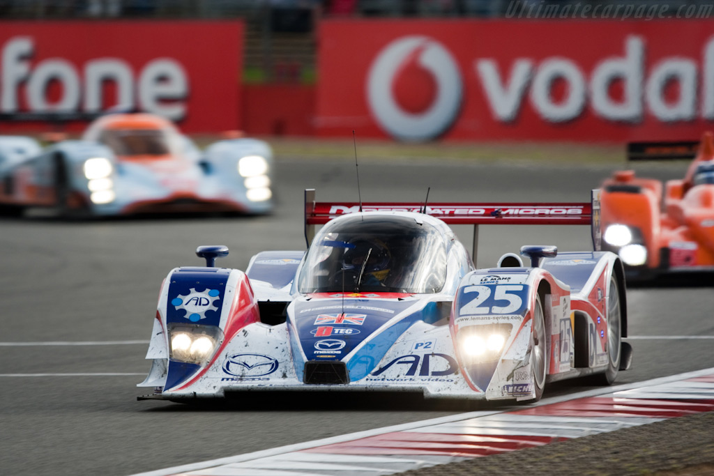Tommy Erdos brings the RML Lola home - Chassis: B0880-HU03   - 2009 Le Mans Series Silverstone 1000 km