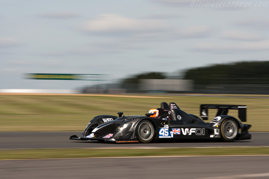Warren Hughes in the WF01 - Chassis: WF01-02   - 2009 Le Mans Series Silverstone 1000 km