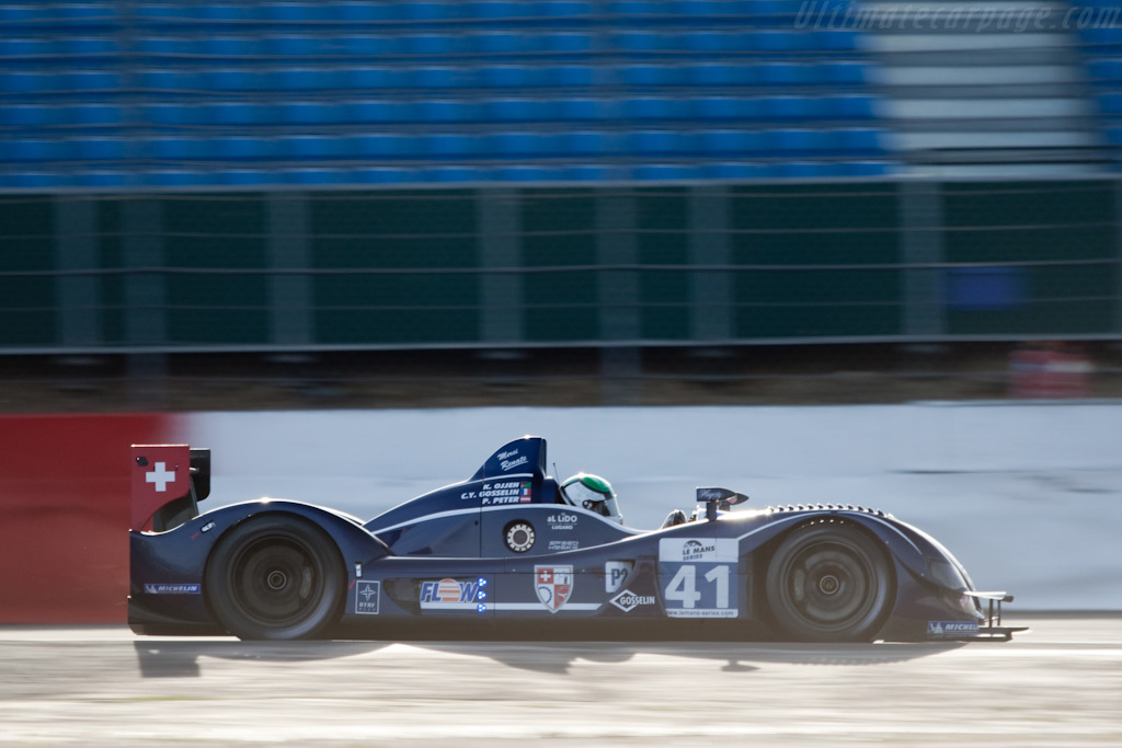 Zytek into the sun - Chassis: 07S-03   - 2009 Le Mans Series Silverstone 1000 km