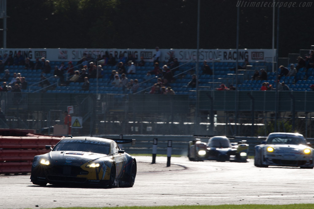 Aston Martin V8 Vantage - Chassis: GT2/006   - 2010 Le Mans Series Silverstone 1000 km (ILMC)