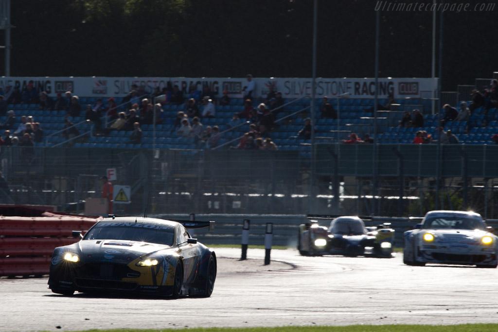 Aston Martin V8 Vantage - Chassis: GT2/006   - 2010 Le Mans Series Silverstone 1000 km (ILMC)