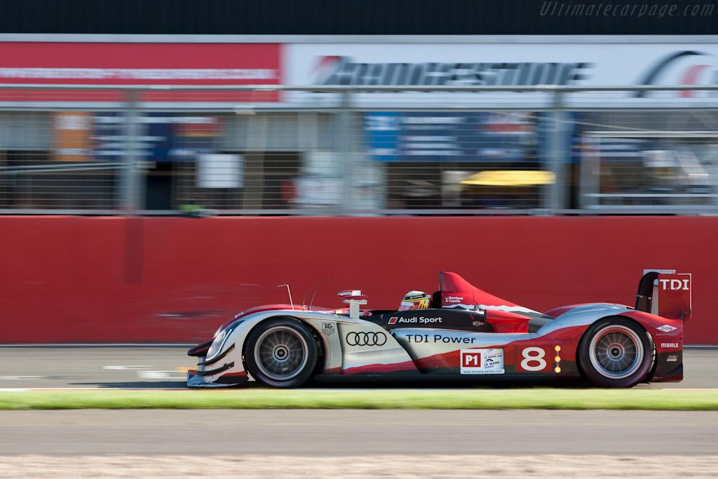 Audi R15 plus    - 2010 Le Mans Series Silverstone 1000 km (ILMC)