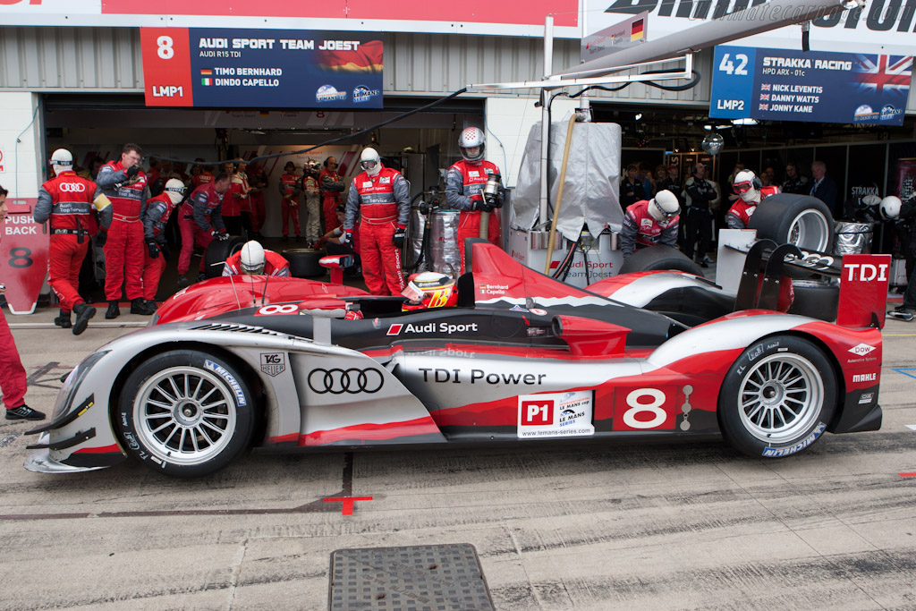 Audi Stop    - 2010 Le Mans Series Silverstone 1000 km (ILMC)