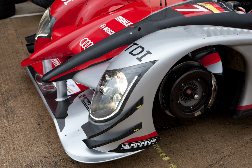 Audi's high downforce package    - 2010 Le Mans Series Silverstone 1000 km (ILMC)