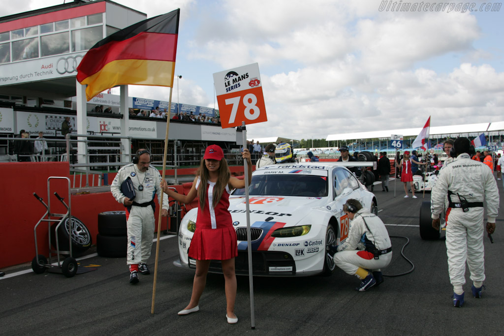 BMW M3 GTR - Chassis: 1001  - 2010 Le Mans Series Silverstone 1000 km (ILMC)