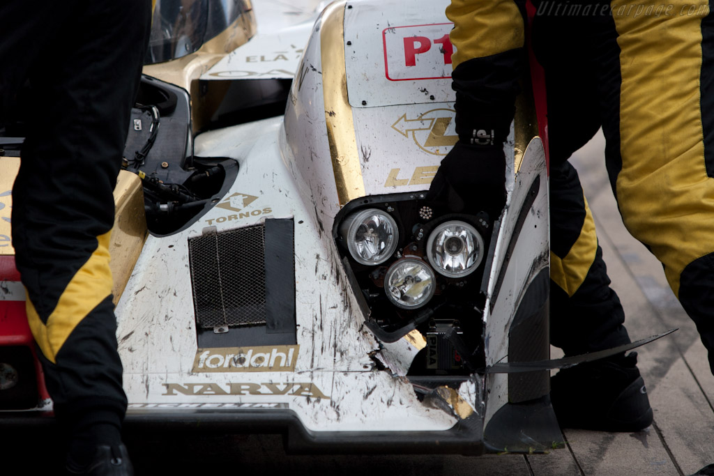 Battle Damage - Chassis: B0860-HU01   - 2010 Le Mans Series Silverstone 1000 km (ILMC)