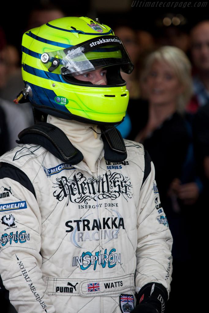 Danny Watts ahead of his stellar drive    - 2010 Le Mans Series Silverstone 1000 km (ILMC)