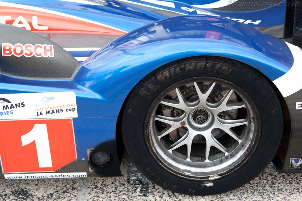 Diesel residue    - 2010 Le Mans Series Silverstone 1000 km (ILMC)