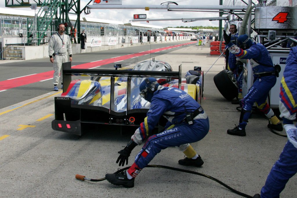 Dropped early - Chassis: 908-05  - 2010 Le Mans Series Silverstone 1000 km (ILMC)