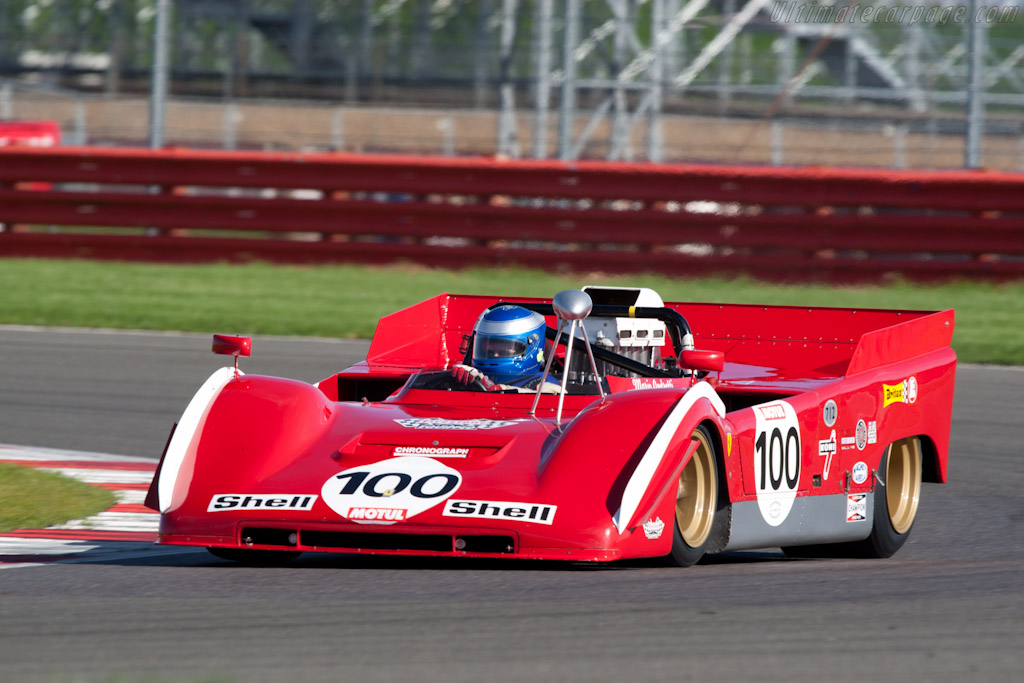 Ferrari 712 Can-Am - Chassis: 1010 - Driver: Paul Knapfield  - 2010 Le Mans Series Silverstone 1000 km (ILMC)