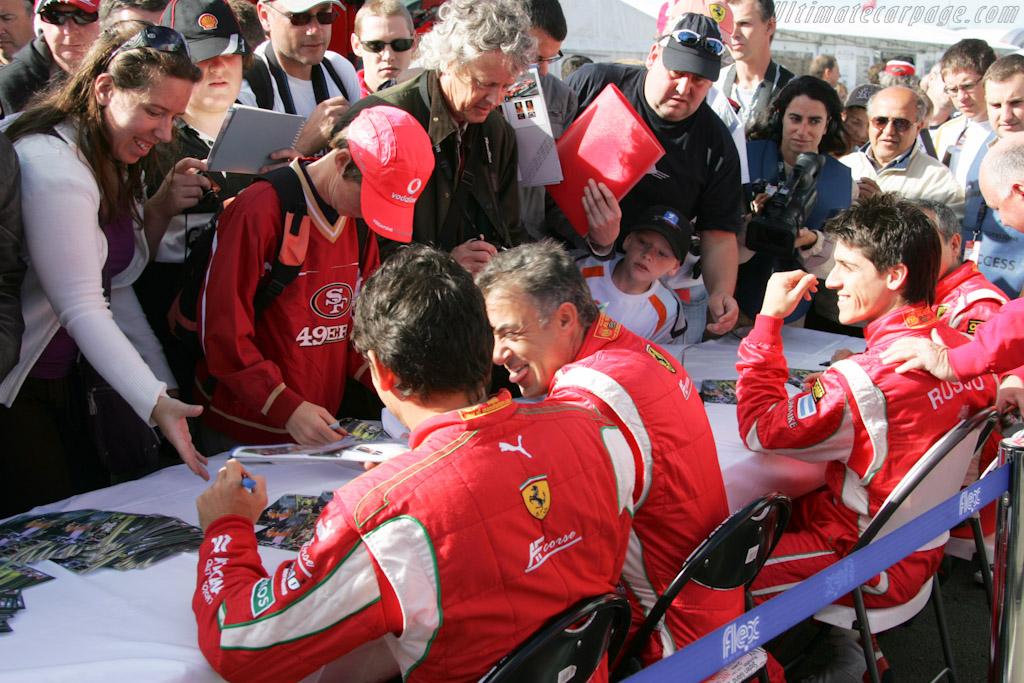 Fisichella and Alesi    - 2010 Le Mans Series Silverstone 1000 km (ILMC)