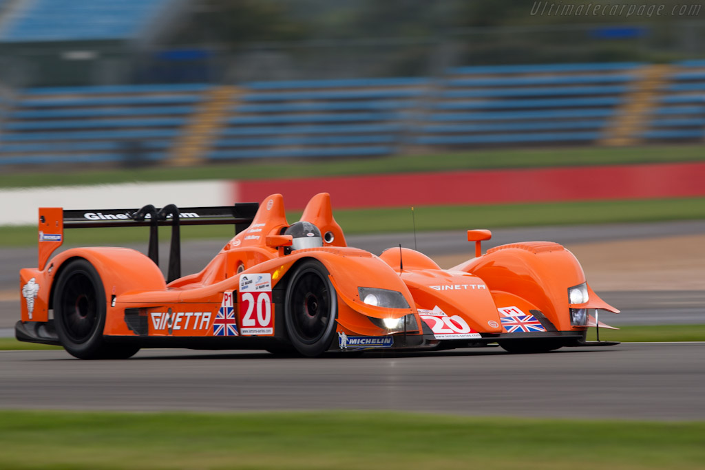 Ginetta-Zytek 09S - Chassis: 09S-06   - 2010 Le Mans Series Silverstone 1000 km (ILMC)