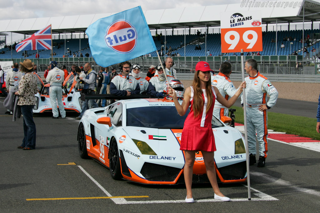 Gulf - Chassis: 09-7 1068   - 2010 Le Mans Series Silverstone 1000 km (ILMC)
