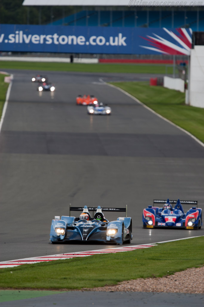 LMP2 leaders Strakka - Chassis: LC70-9   - 2010 Le Mans Series Silverstone 1000 km (ILMC)