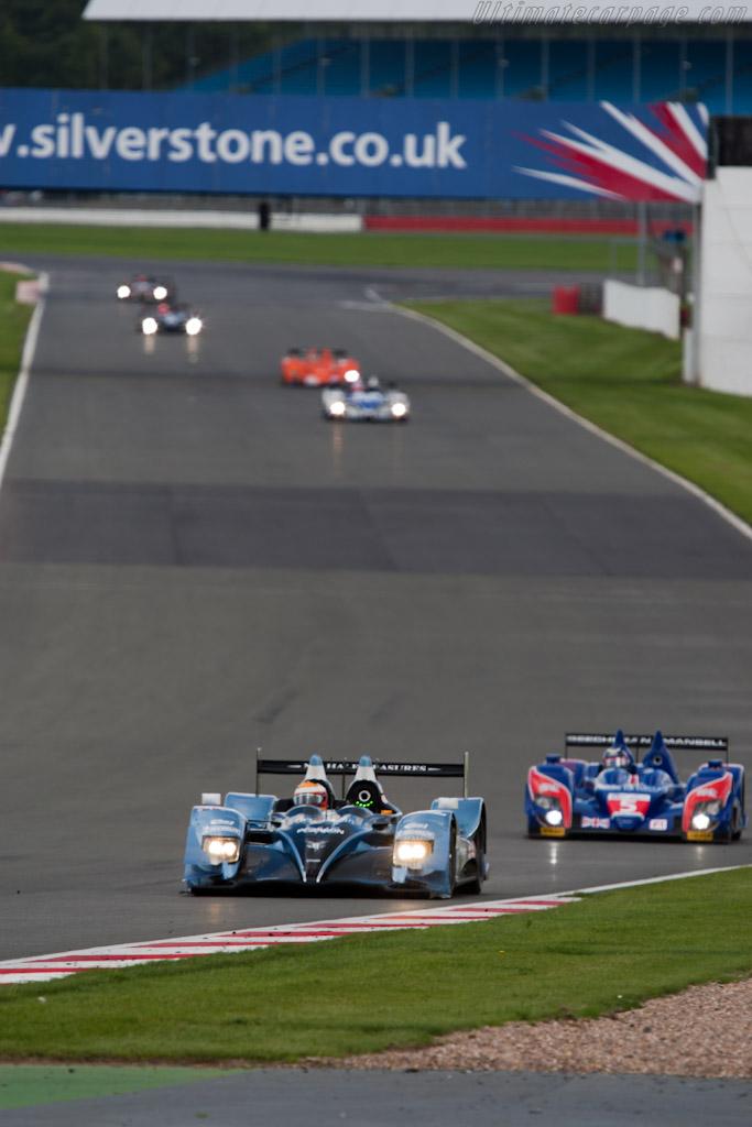 LMP2 leaders Strakka - Chassis: LC70-9   - 2010 Le Mans Series Silverstone 1000 km (ILMC)