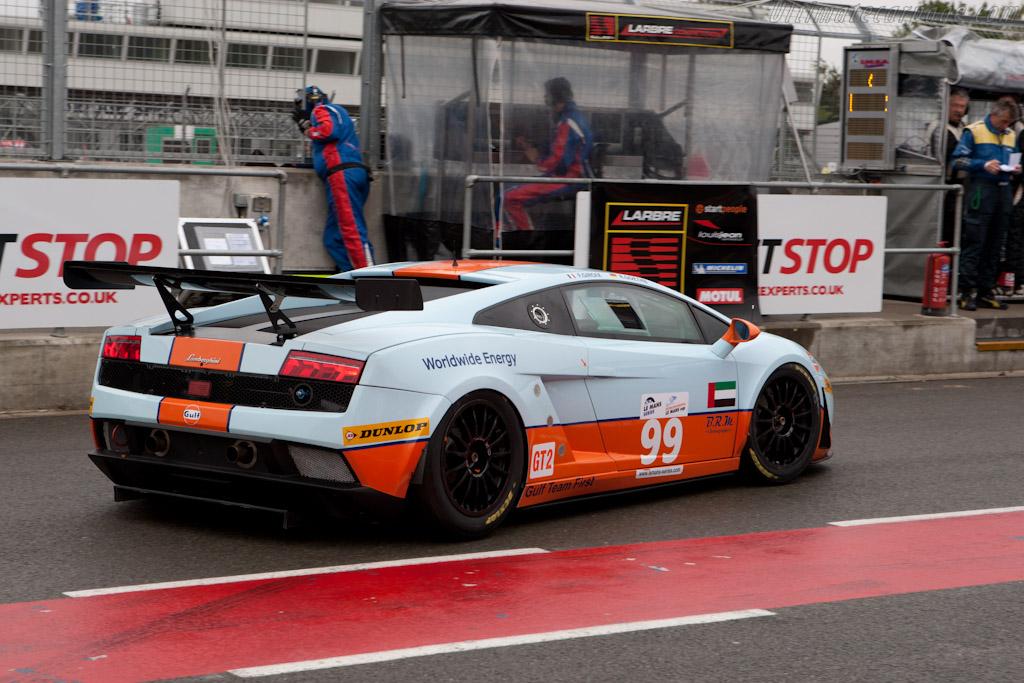 Lamborghini Gallardo LP560 - Chassis: 09-7 1068   - 2010 Le Mans Series Silverstone 1000 km (ILMC)