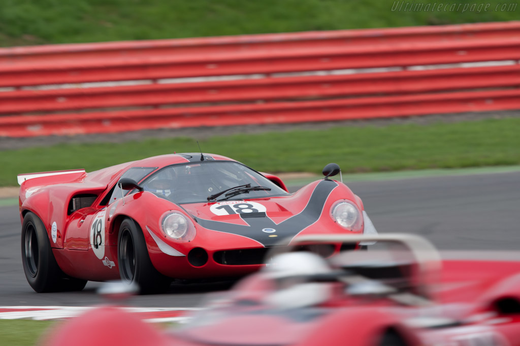 Lola T70 Mk3 Coupe - Chassis: SL73/110 - Driver: Bernard Thuner  - 2010 Le Mans Series Silverstone 1000 km (ILMC)