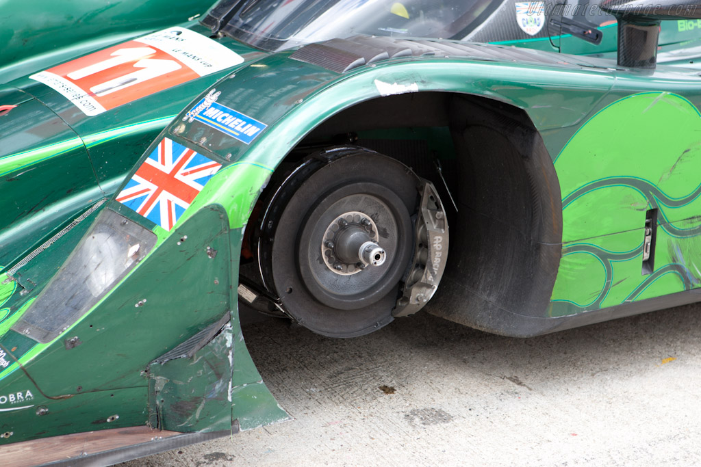 Lost a wheel along the way - Chassis: B0960-HU03   - 2010 Le Mans Series Silverstone 1000 km (ILMC)