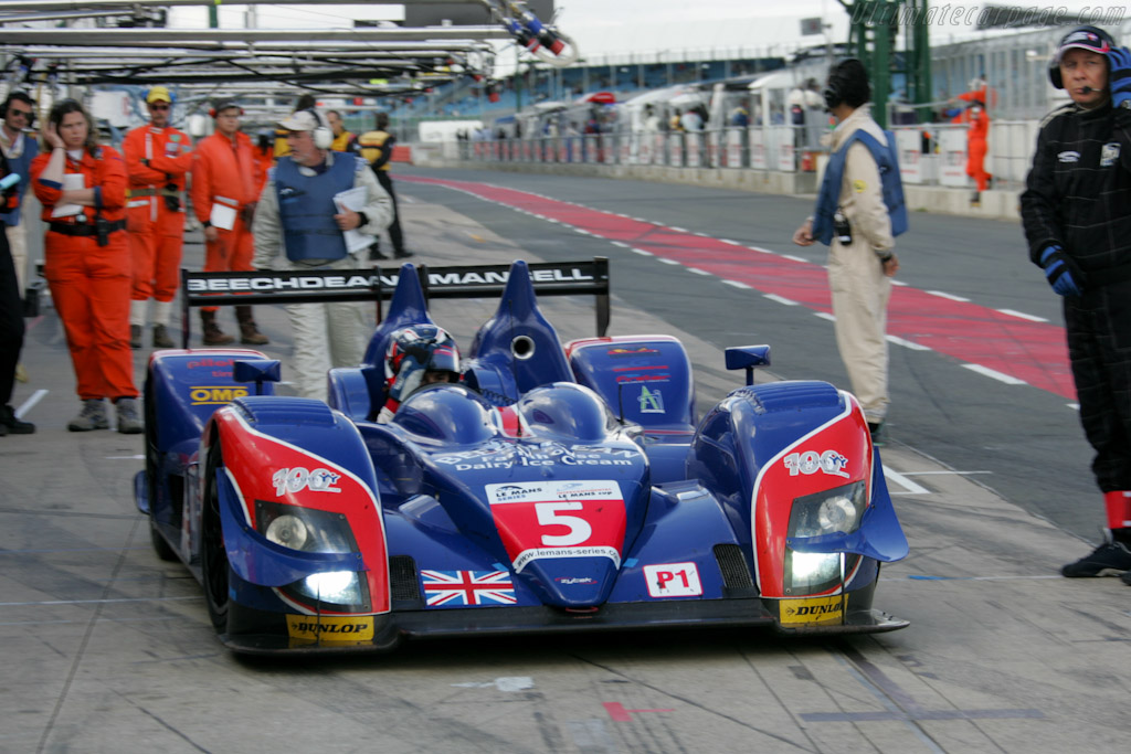 Mansell stop - Chassis: 09S-04   - 2010 Le Mans Series Silverstone 1000 km (ILMC)