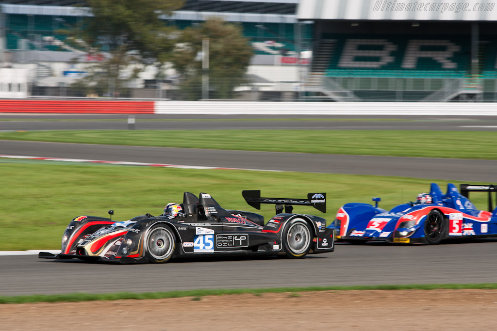 Oreca-Courage FLM - Chassis: FLM-8   - 2010 Le Mans Series Silverstone 1000 km (ILMC)