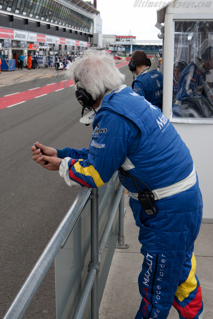 Oreca's Hughues de Chaunac    - 2010 Le Mans Series Silverstone 1000 km (ILMC)