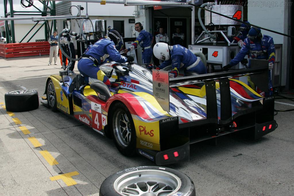 Oreca stop - Chassis: 908-05   - 2010 Le Mans Series Silverstone 1000 km (ILMC)
