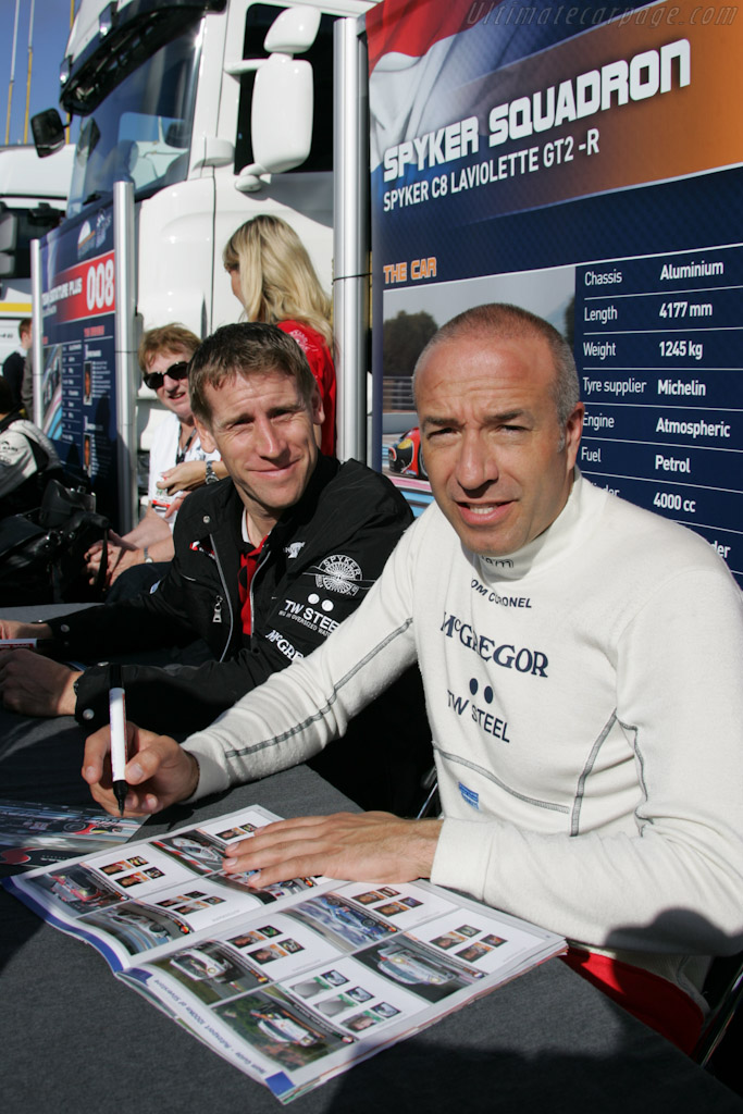 Peter Dumbreck and Tom Coronel    - 2010 Le Mans Series Silverstone 1000 km (ILMC)