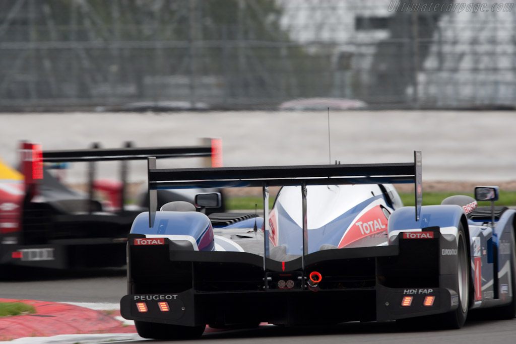 Peugeot vs Audi   - 2010 Le Mans Series Silverstone 1000 km (ILMC)