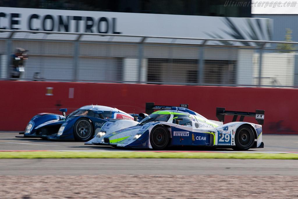 Peugeot vs Lola    - 2010 Le Mans Series Silverstone 1000 km (ILMC)